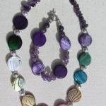 Necklace & Bracelet Set - M..